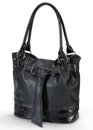 Tasche in Kroko-Optik, bpc bonprix collection