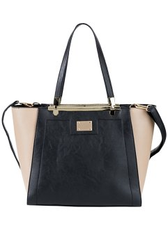 Zweifarbige Handtasche, bpc bonprix collection