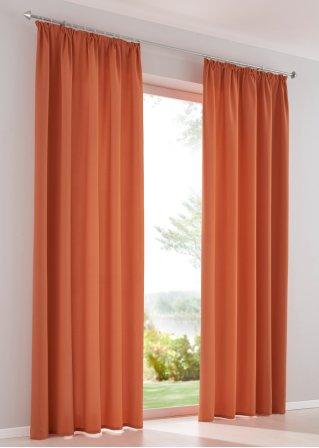 Orange gardinen von bonprix trendy und stilvoll - Gardinen von bonprix ...