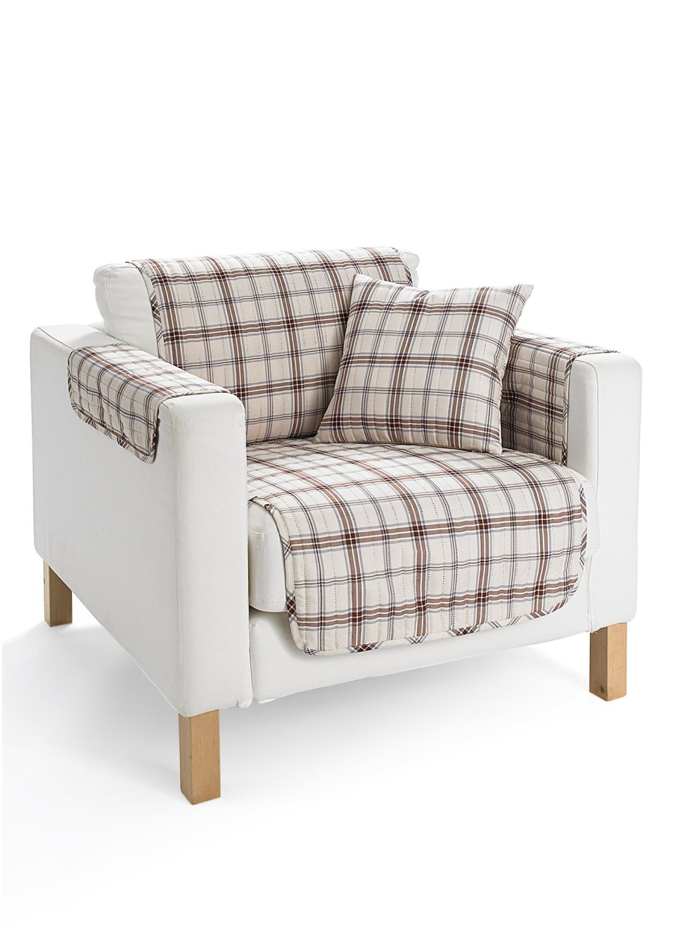 jet de fauteuil karo cr me acheter online. Black Bedroom Furniture Sets. Home Design Ideas