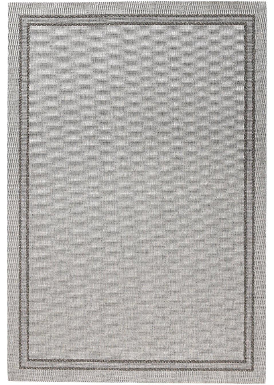 strapazierf higer in und outdoor teppich elba in wohnlichen farben hellgrau. Black Bedroom Furniture Sets. Home Design Ideas