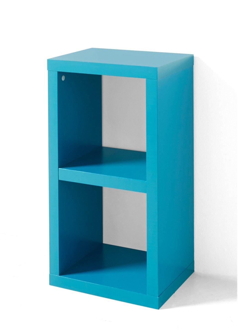allesk nner in w rfelform regal kenia 2 f cher t rkis mit 2 f chern. Black Bedroom Furniture Sets. Home Design Ideas