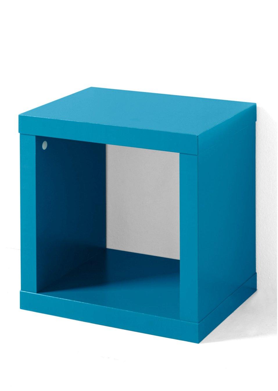 allesk nner in w rfelform regal kenia 1 fach t rkis mit einem fach. Black Bedroom Furniture Sets. Home Design Ideas