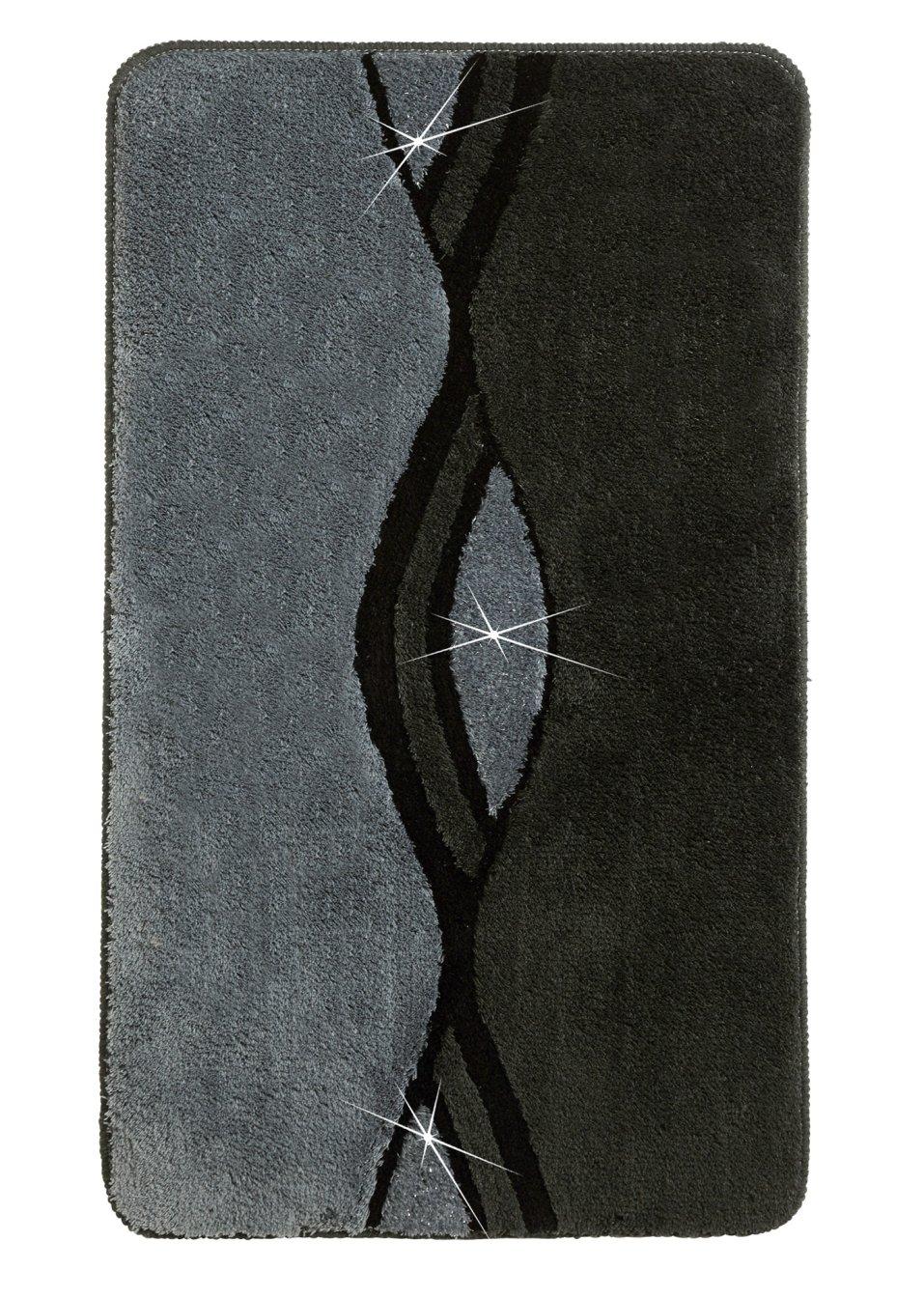 tapis de bain william anthracite bpc living. Black Bedroom Furniture Sets. Home Design Ideas