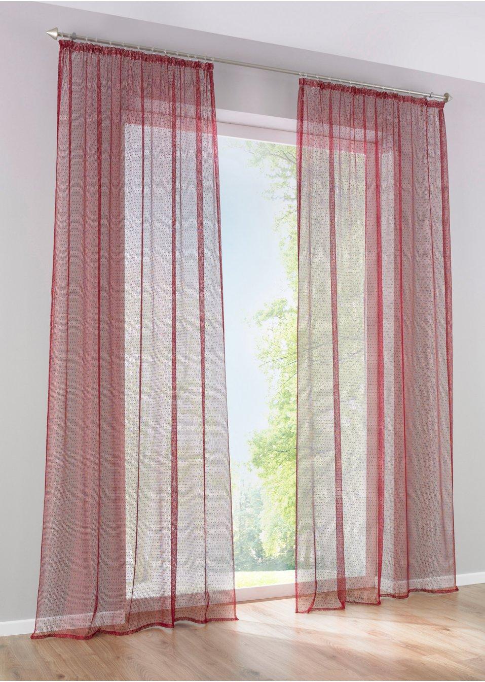 gardine nolan 1er pack schwarz bpc living online kaufen. Black Bedroom Furniture Sets. Home Design Ideas