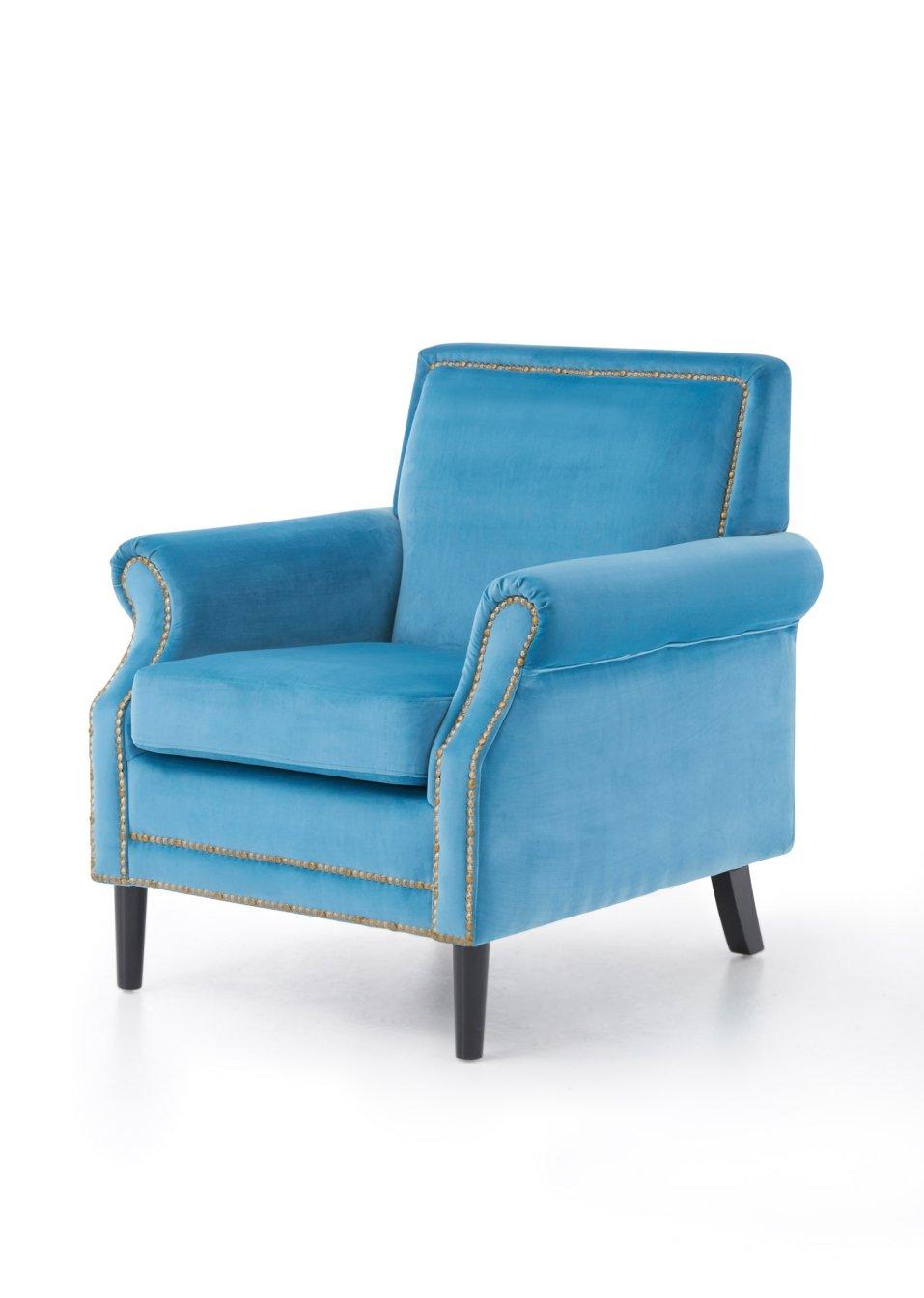 sessel mirza t rkis wohnen bpc living. Black Bedroom Furniture Sets. Home Design Ideas